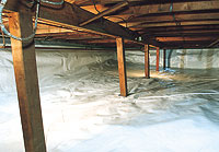 Crawlspace Insulation: Where Should it Go?