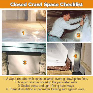 The Crawlspace Argument: Open (Vented) vs Closed (Encapsulated)