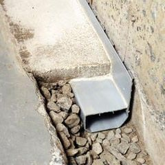 water guard interior french drain system
