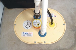 TripleSafe Sump Pump from Basement Systems