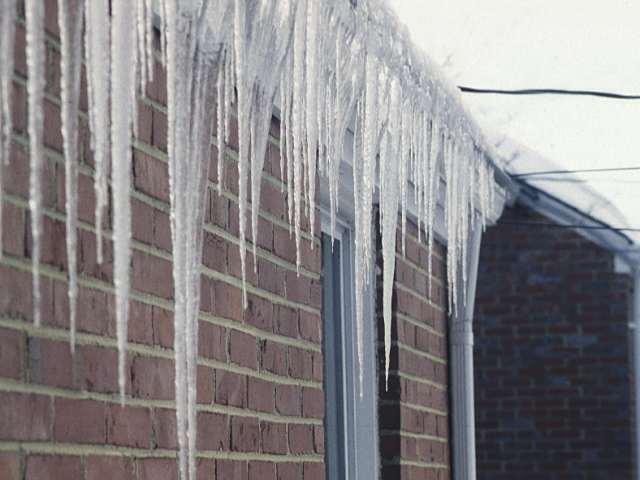 How to stop the water damage and prevent ice dams from forming in the future