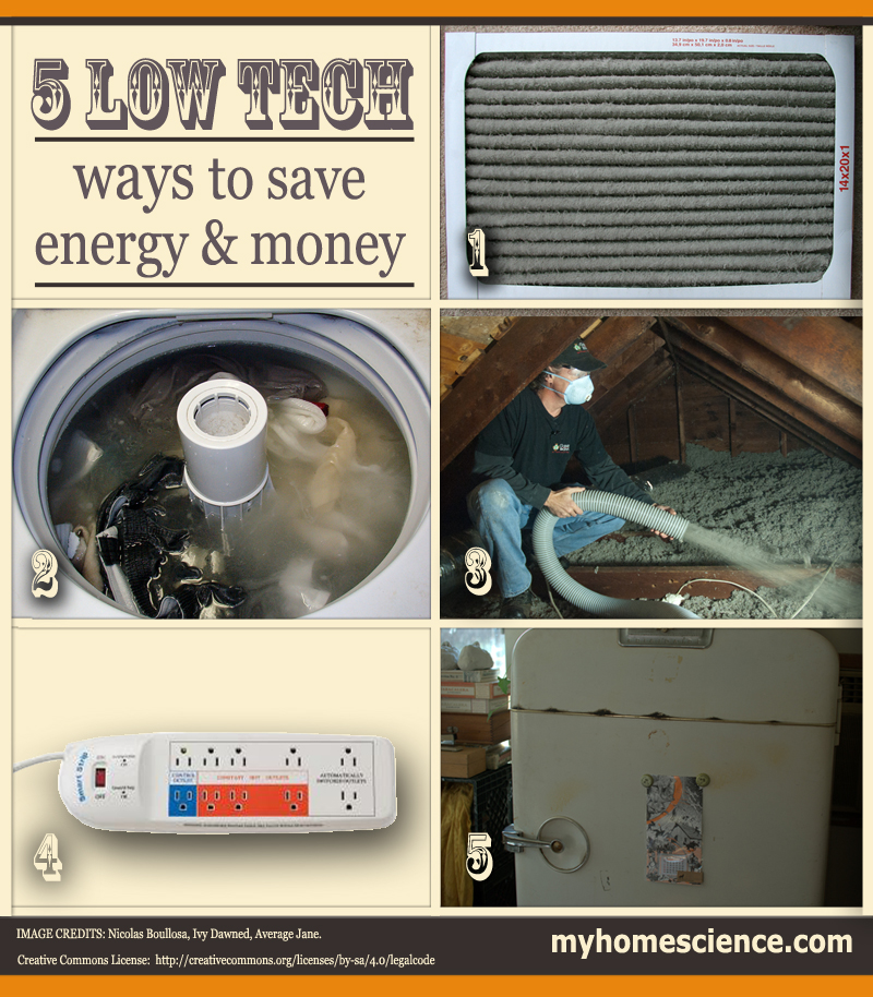5 Low-Tech Ways to Save Energy and Money in 2014