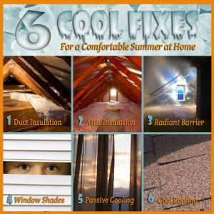 6 cool fixer for summer comfort