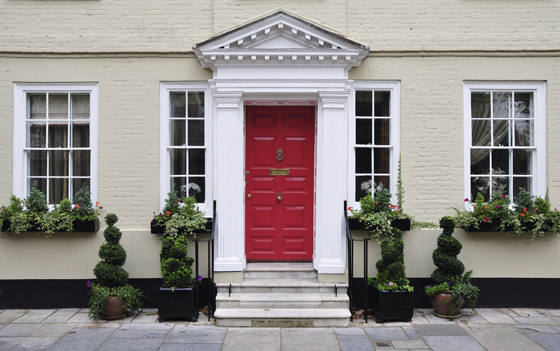 Choosing a new entry door